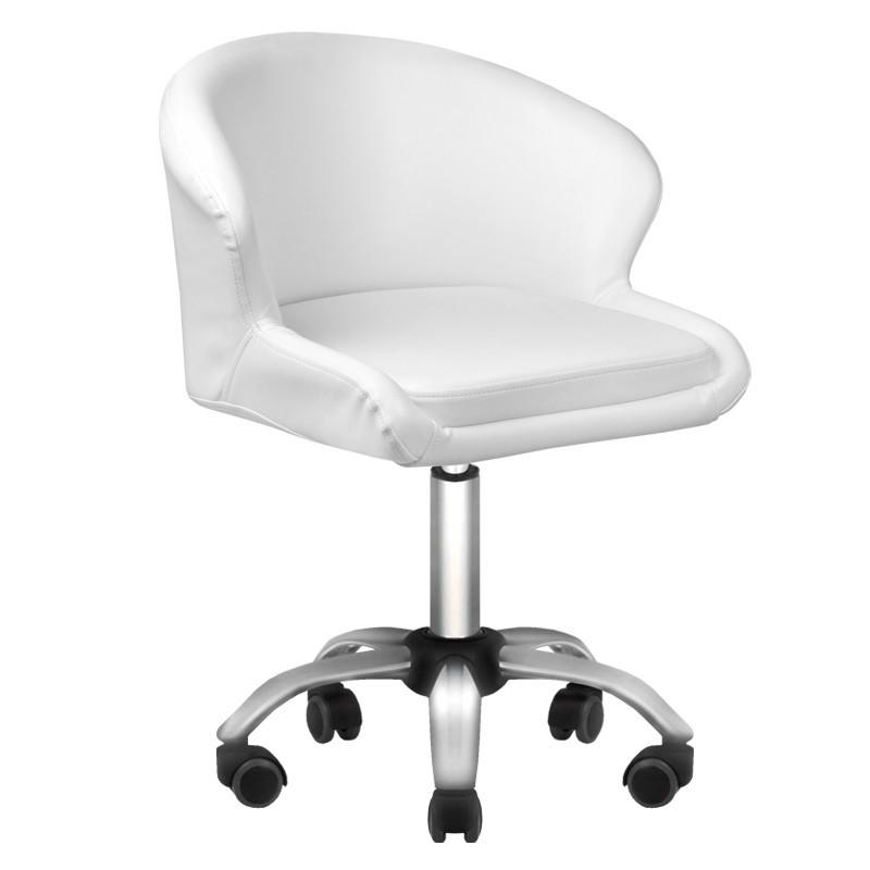 Kosmetikos kėdutė LADY baltos spalvos