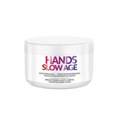 FARMONA HANDS SLOW AGE - Stabdanti senėjimą ir skaistinanti odą parafino kaukė rankoms, 300 ml