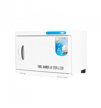 Rankšluosčių šildytuvas su UV sterilizatoriumi, baltas