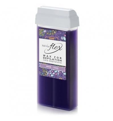 ItalWax kasetinis vaškas Wine Flex 100ml