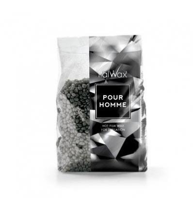 ItalWax depiliacinis vaškas vyrams SILVER POUR HOMME, 1kg