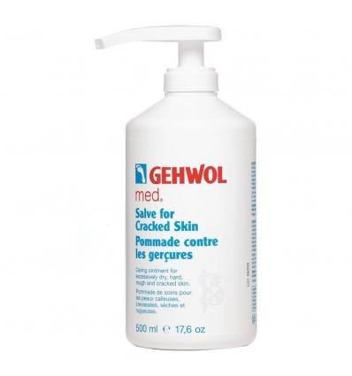 "GEHWOL Med ""Salve for Cracked Skin"" trūkinėjančios odos tepalas, 500ml"