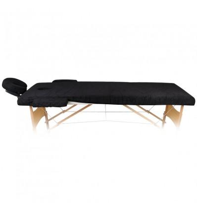 Medžiaginė paklodė su guma skirta masažiniam gultui