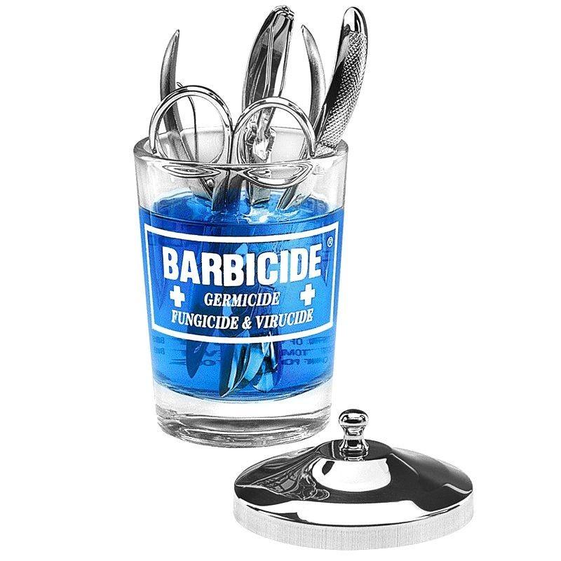 BARBICIDE stiklinis konteineris dezinfekcijai 120ml